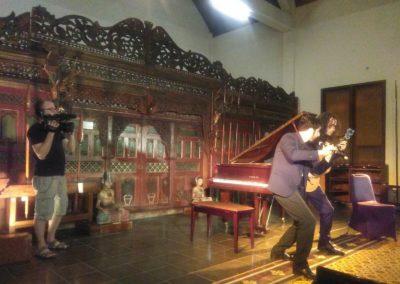 Concert at Rembi Budah Buraya Temple in Yogyakarta, Indonesia 2